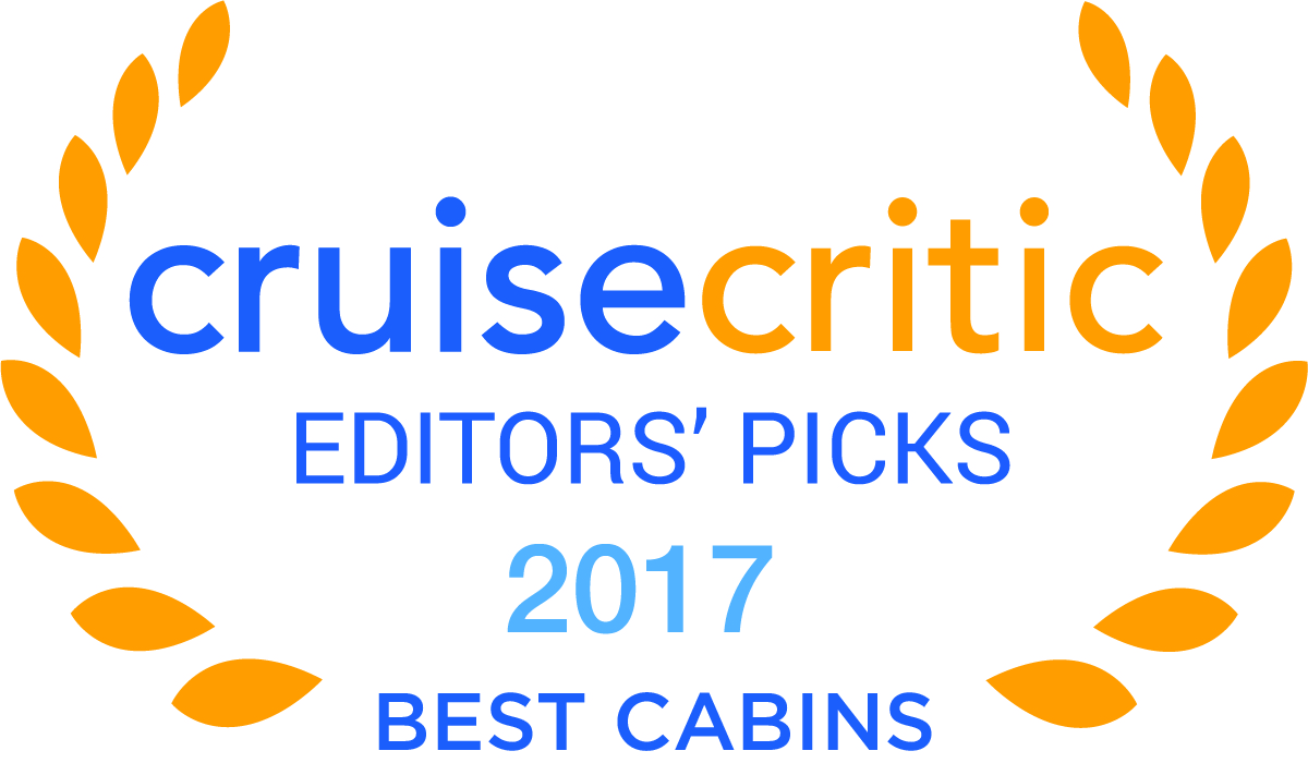Cruise Critic Best Cabins Award